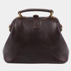 Удобная коричневая женская сумка ATS-2765 214352