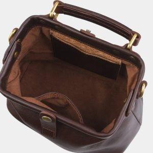 Удобная коричневая женская сумка ATS-2765 214353