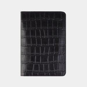 Неповторимая черная обложка для паспорта ATS-2203