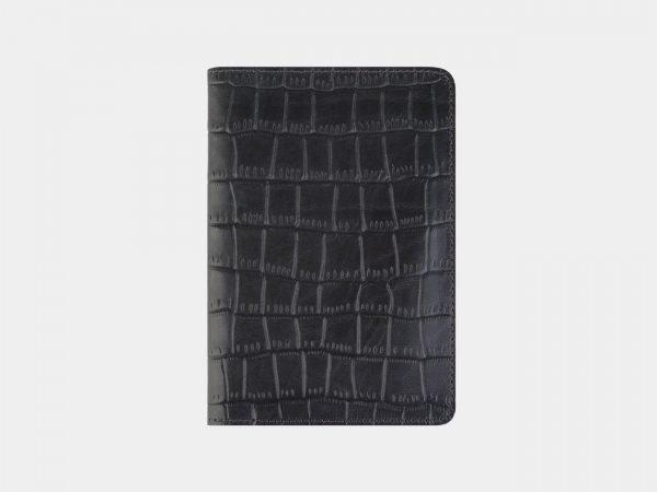 Солидная серая обложка для паспорта ATS-2212