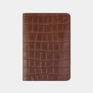 Уникальная светло-коричневая обложка для паспорта ATS-2215