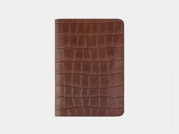 Деловая светло-коричневая обложка для паспорта ATS-2215