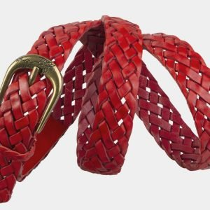 Уникальный красный женский модельный ремень ATS-2134 215791