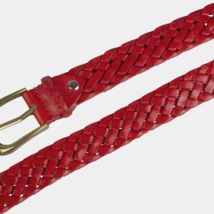 Уникальный красный женский модельный ремень ATS-2134 215790