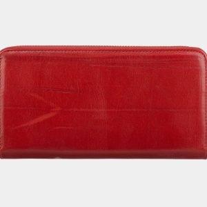 Неповторимый красный портмоне с росписью ATS-2826 214250
