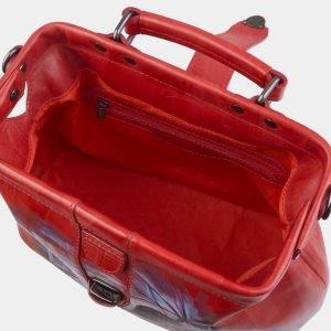 Неповторимая красная сумка с росписью ATS-2814 214299