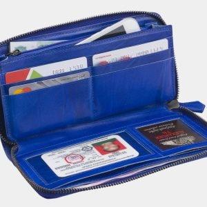 Модный голубовато-синий портмоне ATS-2788 214338