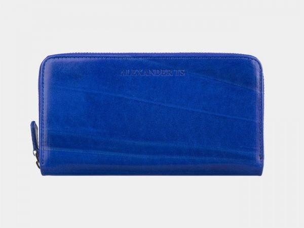 Солидный голубовато-синий портмоне ATS-2789