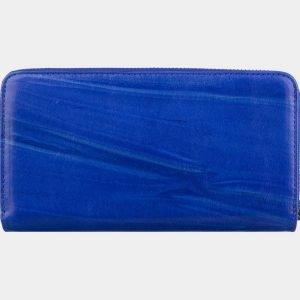 Солидный голубовато-синий портмоне ATS-2789 214335