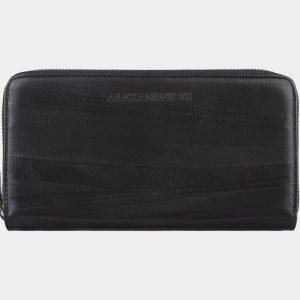 Кожаный черный портмоне ATS-2794