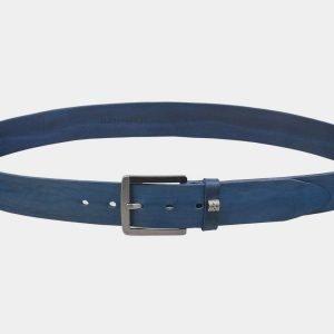 Уникальный голубовато-синий мужской джинсовый ремень ATS-3354