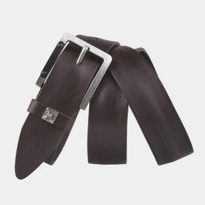 Удобный коричневый мужской джинсовый ремень ATS-3355 212730
