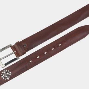 Деловой светло-коричневый мужской джинсовый ремень ATS-3357 212721