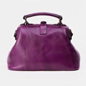 Неповторимая фиолетовая сумка с росписью ATS-3340 212795