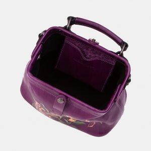 Неповторимая фиолетовая сумка с росписью ATS-3340 212796