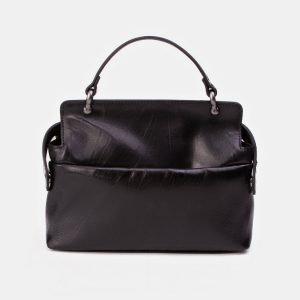 Вместительная черная сумка с росписью ATS-3346 212765
