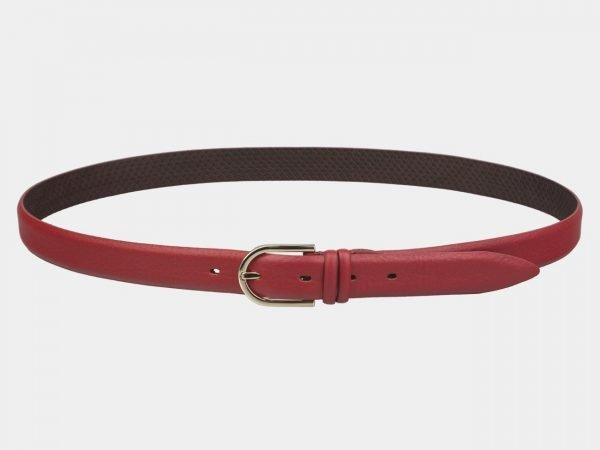 Стильный красный женский модельный ремень ATS-3424
