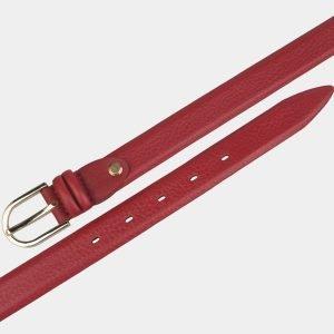 Стильный красный женский модельный ремень ATS-3424 212505