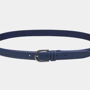 Стильный синий женский модельный ремень ATS-3425