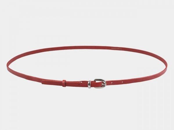 Стильный красный женский модельный ремень ATS-2827