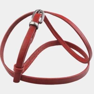 Стильный красный женский модельный ремень ATS-2828 214243