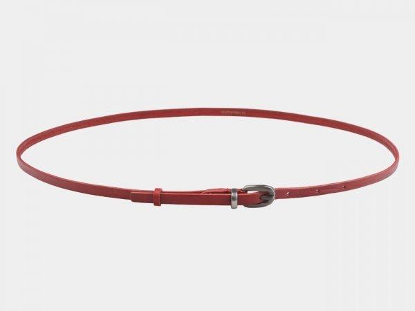 Стильный красный женский модельный ремень ATS-2828