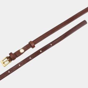 Солидный светло-коричневый женский модельный ремень ATS-2829 214238