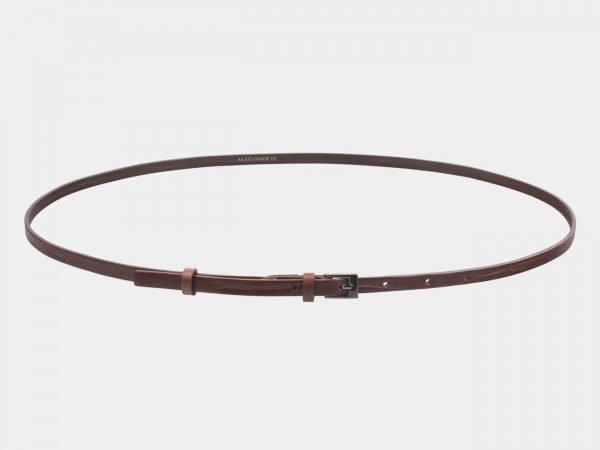 Удобный светло-коричневый женский модельный ремень ATS-2830