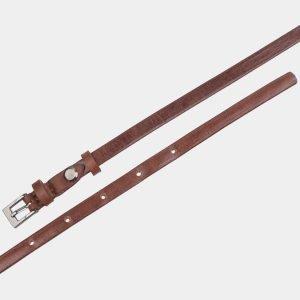 Удобный светло-коричневый женский модельный ремень ATS-2830 214234