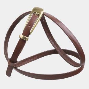 Модный светло-коричневый женский модельный ремень ATS-2831 214231
