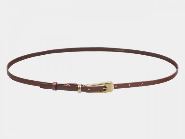 Модный светло-коричневый женский модельный ремень ATS-2831