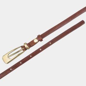 Модный светло-коричневый женский модельный ремень ATS-2831 214230