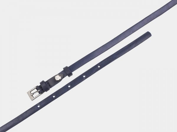 Солидный синий женский модельный ремень ATS-2839