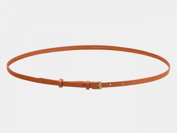 Удобный оранжевый женский модельный ремень ATS-2840