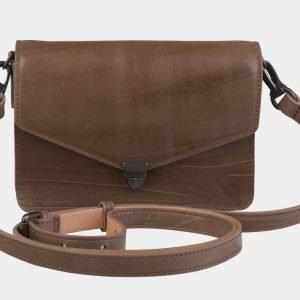 Солидная бежевая женская сумка на пояс ATS-2191