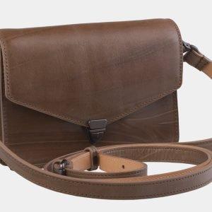 Солидная бежевая женская сумка на пояс ATS-2191 215714