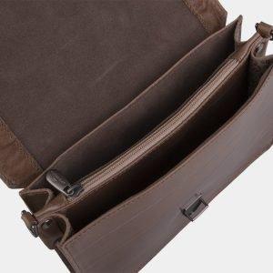 Солидная бежевая женская сумка на пояс ATS-2191 215716