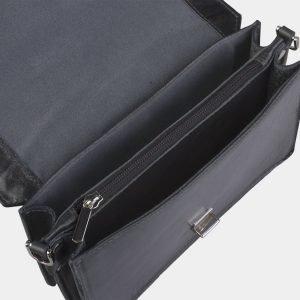 Вместительная серая женская сумка на пояс ATS-2192 215708