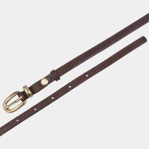 Удобный коричневый женский модельный ремень ATS-2849 214158