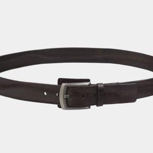 Стильный коричневый мужской джинсовый ремень ATS-3534