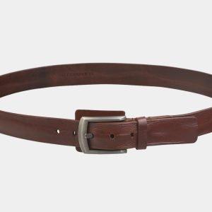 Деловой светло-коричневый мужской джинсовый ремень ATS-3536