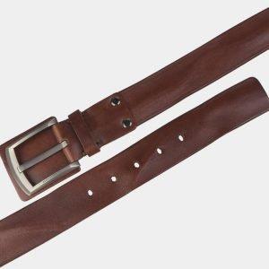 Кожаный светло-коричневый мужской джинсовый ремень ATS-3536 212150