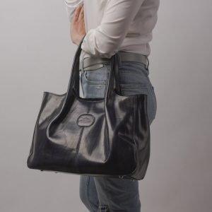 Функциональная синяя женская сумка ATS-2183 215720