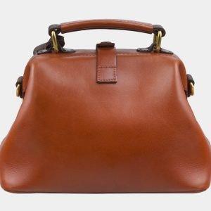 Функциональная темно-оранжевая сумка с росписью ATS-2861 214124