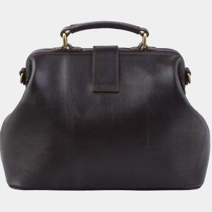 Солидная коричневая сумка с росписью ATS-2862 214119