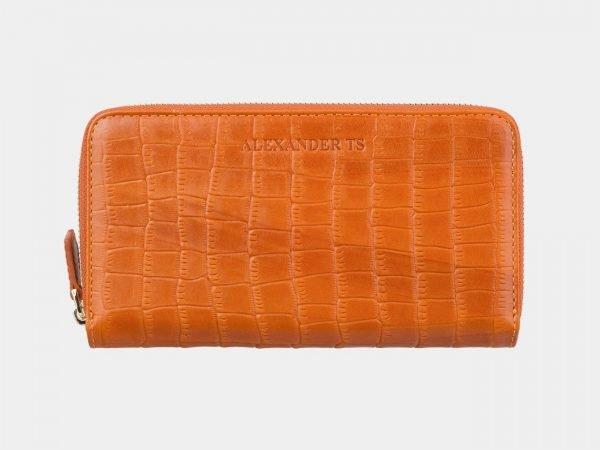 Солидный оранжевый портмоне ATS-2868
