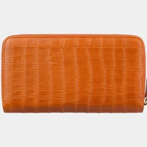 Солидный оранжевый портмоне ATS-2868 214107
