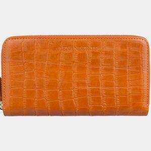 Удобный оранжевый портмоне ATS-2870