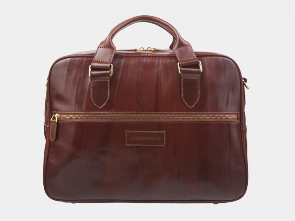 Функциональный светло-коричневый мужской портфель ATS-2880
