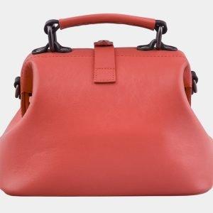 Функциональная розово-оранжевая сумка с росписью ATS-2928 213923